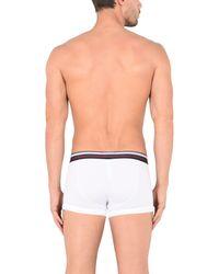 Emporio Armani - White Boxer for Men - Lyst