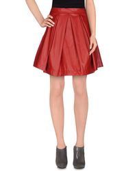 CO|TE - Red Knee Length Skirt - Lyst