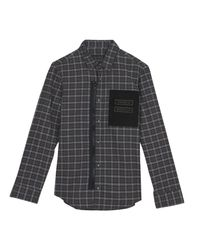 Frankie Morello - Gray Shirt for Men - Lyst