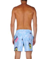 Boardies - Blue Swimming Trunks for Men - Lyst