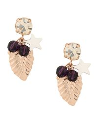 First People First - Purple Earrings - Lyst