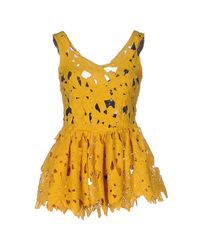 Ainea - Yellow Top - Lyst