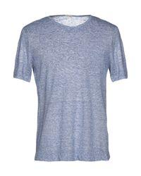 Massimo Alba - Blue T-shirt for Men - Lyst