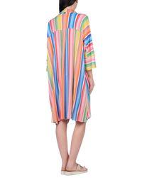 Missoni - Red Beach Dress - Lyst