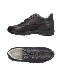 Bruno Verri Gray Low-tops & Sneakers
