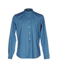 Meltin' Pot - Blue Shirt for Men - Lyst