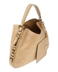 Ferragamo - Natural Handbag - Lyst