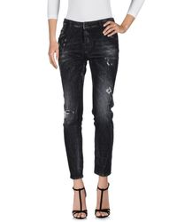 DSquared² - Black Denim Pants - Lyst