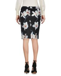 No Secrets - Black Knee Length Skirt - Lyst