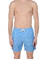 Fiorio - Blue Swimming Trunks for Men - Lyst