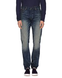 Denim & Supply Ralph Lauren - Blue Denim Trousers for Men - Lyst