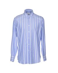 Ballantyne - Purple Shirt for Men - Lyst