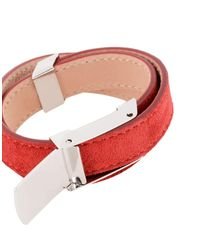 DSquared² - Red Bracelet - Lyst