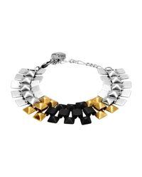 Ela Stone Metallic Bracelet
