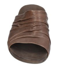 The Last Conspiracy Brown Sandals for men