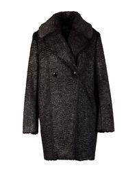 McQ Alexander McQueen - Black Coat - Lyst