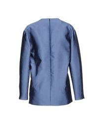 AQUILANO.RIMONDI - Blue Blouse - Lyst
