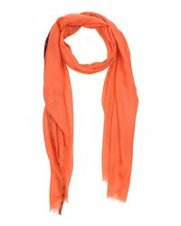 Ballantyne - Orange Oblong Scarves - Lyst