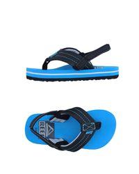 Reef - Black Toe Strap Sandal for Men - Lyst