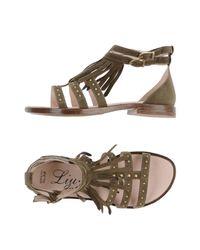 Liu Jo - Green Sandals - Lyst