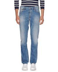 Uniform - Blue Denim Pants for Men - Lyst