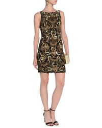 Alice + Olivia - Black Short Dresses - Lyst