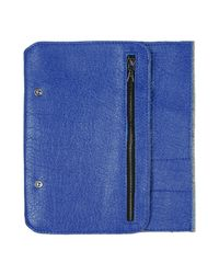This Is Ground - Blue Document Holder for Men - Lyst