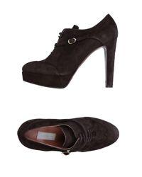 L'Autre Chose | Brown Lace-up Shoe | Lyst