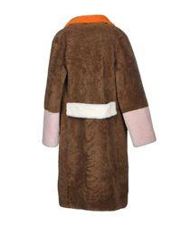 Saks Potts - Brown Coat - Lyst