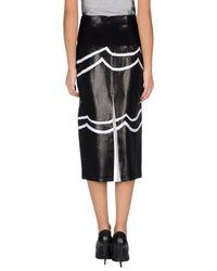 Missoni - Black 3/4 Length Skirt - Lyst