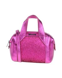 Just Cavalli - Purple Handbag - Lyst