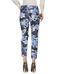 Guess - Purple Casual Pants - Lyst
