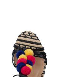 Schutz - Black Sandals - Lyst