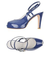 Roberto Del Carlo - Blue Sandals - Lyst