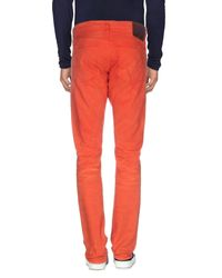 PRPS - Red Denim Trousers for Men - Lyst