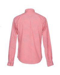 Sun 68 Red Shirt for men