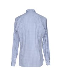 U.S. POLO ASSN. - Blue Shirt for Men - Lyst