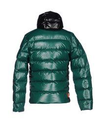 Rrd - Green Down Jacket - Lyst