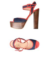 Jolie By Edward Spiers - Red Sandals - Lyst