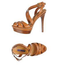 Ralph Lauren Collection - Multicolor Sandals - Lyst