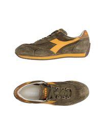 Diadora | Green Low-tops & Sneakers for Men | Lyst