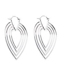 Noir Jewelry - Metallic Earrings - Lyst