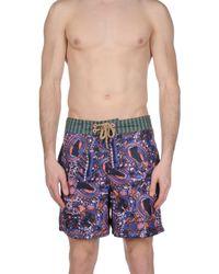Maaji Purple Swim Trunks for men