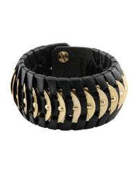 DSquared² - Black Bracelet - Lyst