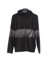 T By Alexander Wang - Black Overcoat for Men - Lyst