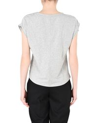 Calvin Klein - Gray Beach Dress - Lyst