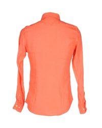 AT.P.CO - Black Shirt for Men - Lyst
