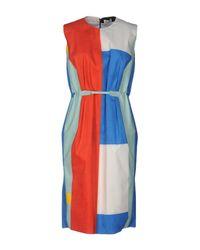 Arthur Arbesser - Green Knee-length Dress - Lyst