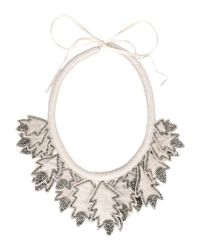 INTROPIA - Gray Necklace - Lyst