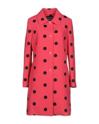 Boutique Moschino - Multicolor Overcoat - Lyst